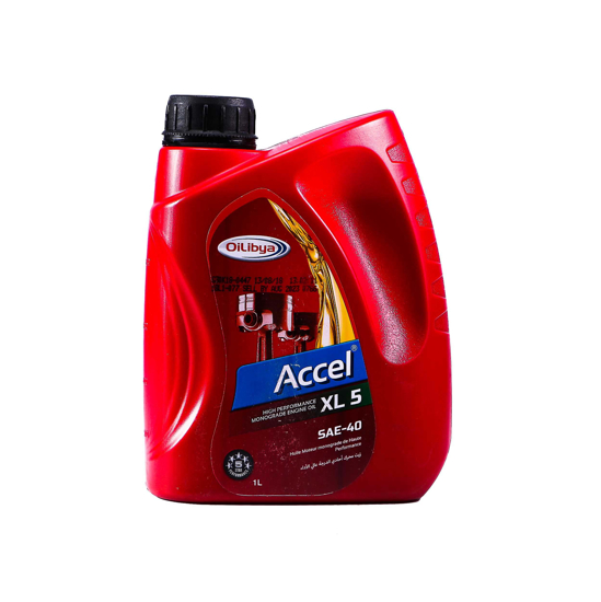 Picture of OILYBIA Accel XL 5 - SAE 40-12 X 1 LTR