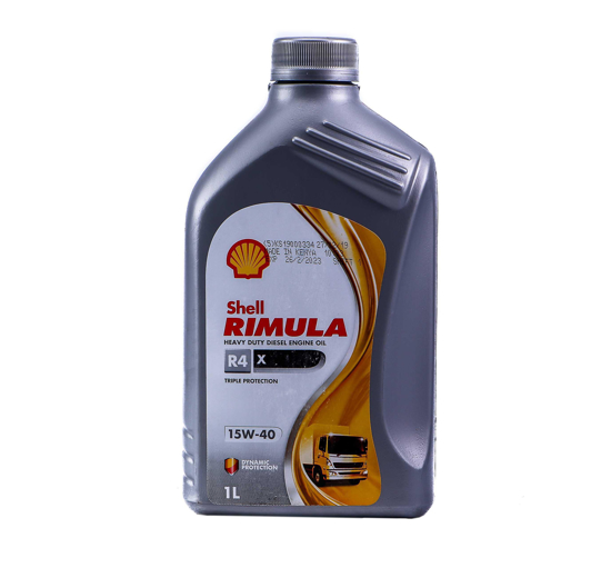 Picture of SHELL Rimula R4  X 15W 40-12 X 1 LTR