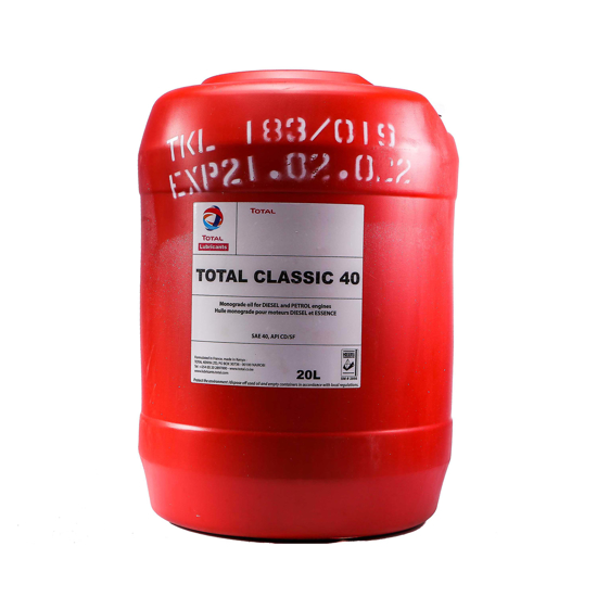 Picture of TOTAL Classic SAE 40-20 LTR